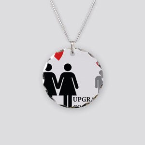 Upgrade Complete Necklace Circle Charm