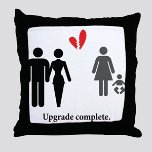 Upgrade Complete Throw Pillow