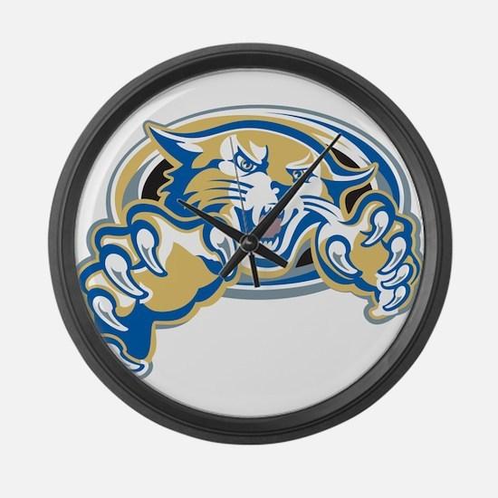 Wildcat Large Wall Clock