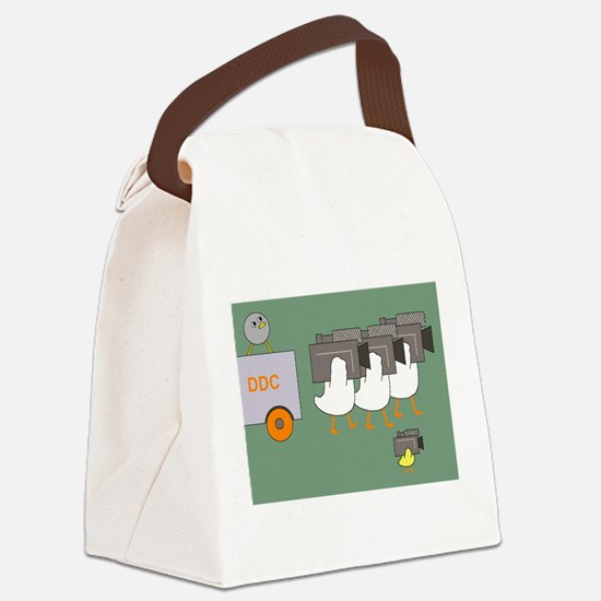 Media Crew Canvas Lunch Bag
