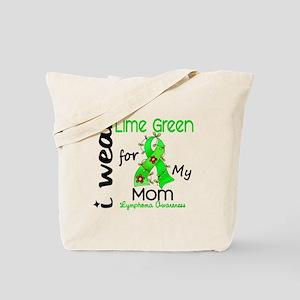 I Wear Lime 43 Lymphoma Tote Bag