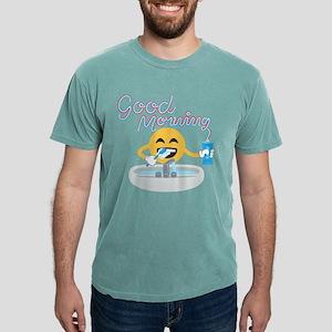Emoji Smiling Face Good Mens Comfort Colors Shirt