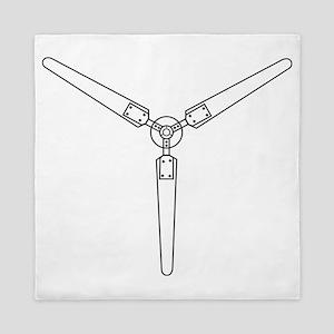 Wind Propeller Queen Duvet