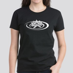 Floating Lotus Women's T-Shirt Women's Dark T-Shir
