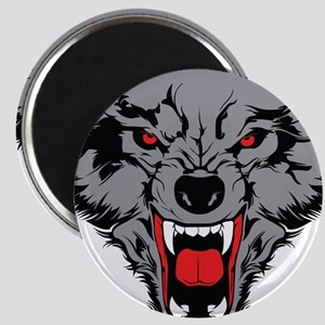 Angry Wolf Magnet