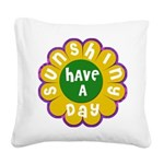 FIN-sunshiny-day Square Canvas Pillow
