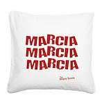FIN-marcia Square Canvas Pillow