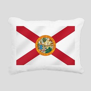 State Flag of Florida Rectangular Canvas Pillow