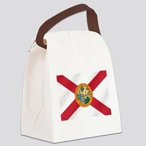 State Flag of Florida Canvas Lunch Bag