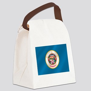 Flag of Minnesota Canvas Lunch Bag