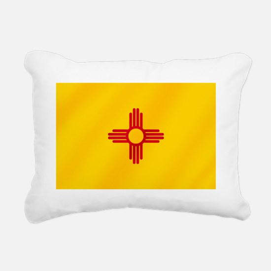 Flag of New Mexico Rectangular Canvas Pillow