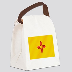 Flag of New Mexico Canvas Lunch Bag