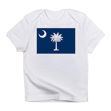 South Carolina State Flag Infant T-Shirt