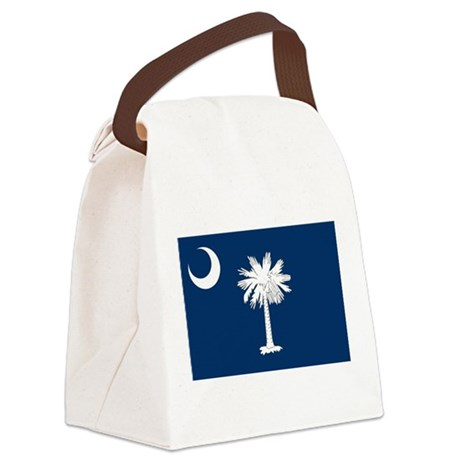 South Carolina State Flag Canvas Lunch Bag