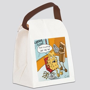 """Little off the Top"" Canvas Lunch Bag"