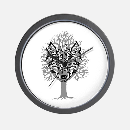EYES OF FOREST Wall Clock