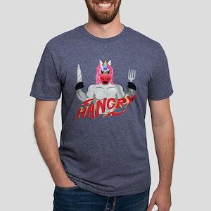 Unicorn Hangry Mens Tri-blend T-Shirt