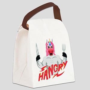 Unicorn Hangry Canvas Lunch Bag
