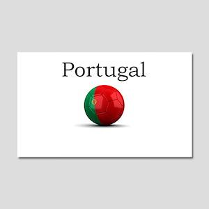 Soccer ball-portugal Car Magnet 20 x 12