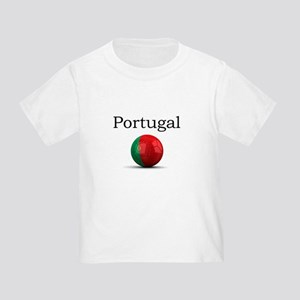 Soccer ball-portugal Toddler T-Shirt