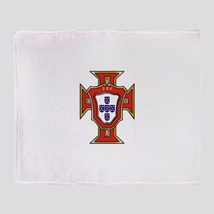 portugal.logo Throw Blanket
