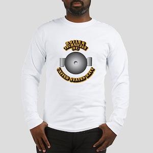 Navy - Rate - BT Long Sleeve T-Shirt