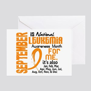 Leukemia Awareness Month Greeting Card