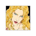 Vampire Vixen Square Sticker 3