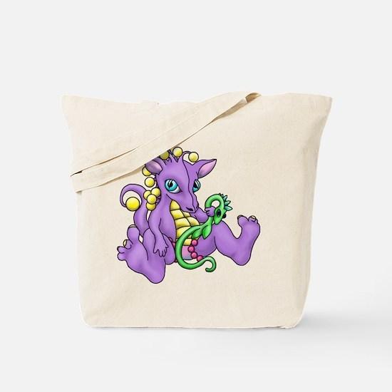 sitting dragon.png Tote Bag