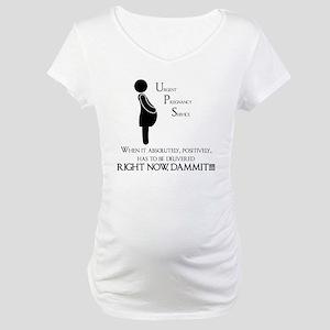 Pregnancy UPS Maternity T-Shirt
