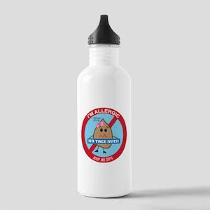 Tree Nut Allergy - Girl Stainless Water Bottle 1.0