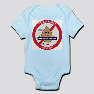 Tree Nut Allergy - Boy Infant Bodysuit