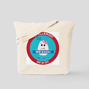 Egg Allergy - Girl Tote Bag