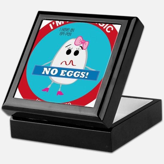 Egg Allergy - Girl Keepsake Box