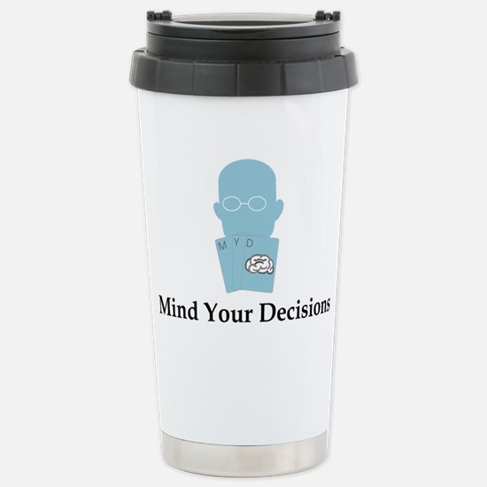 MYD Basic Logo Stainless Steel Travel Mug