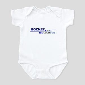 Hockey Ice Cold Fun Infant Bodysuit