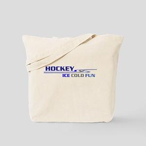 Hockey Ice Cold Fun Tote Bag