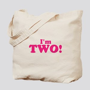 Im Two Second Birthday Tote Bag