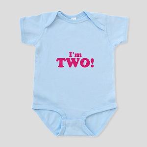 Im Two Second Birthday Infant Bodysuit