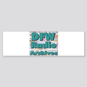 DFW Radio Archives - Square Logo Sticker (Bumper)