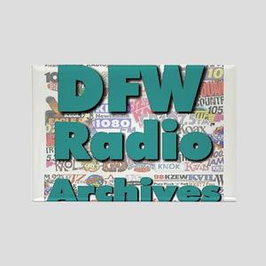 DFW Radio Archives - Square Logo Rectangle Magnet