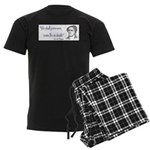 Lewis Tappan Men's Dark Pajamas