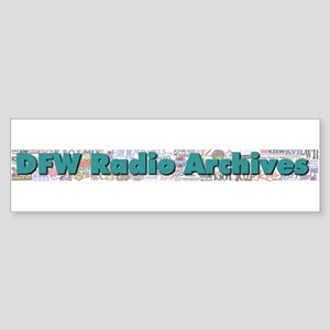 DFW Radio Archives - Bar Logo Sticker (Bumper)