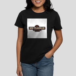 Ben Franklin Brewery Women's Dark T-Shirt