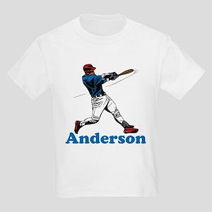 Personalized Baseball Kids Light T-Shirt
