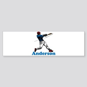 Personalized Baseball Sticker (Bumper)