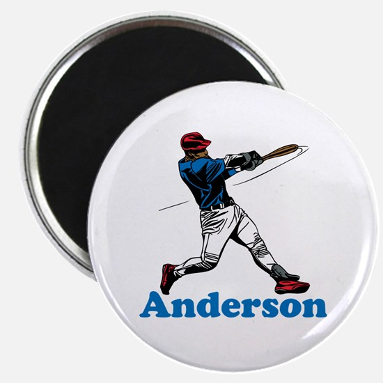 "Personalized Baseball 2.25"" Magnet (100 pack)"