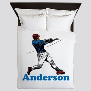 Personalized Baseball Queen Duvet