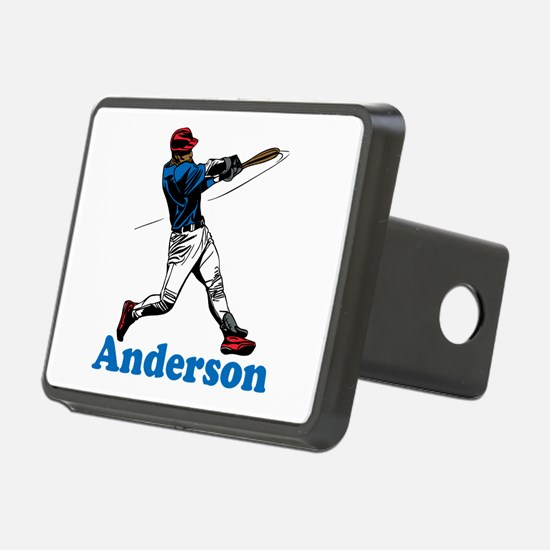 Personalized Baseball Hitch Cover