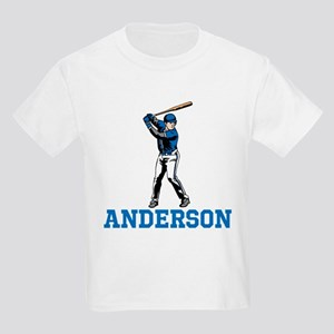 Personalized Baseball Kids Light T-Shirt